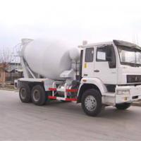 Large picture sinotruk howo 6*4 concrete mixer truck