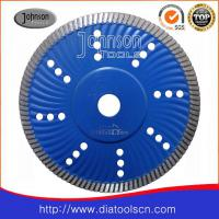 Large picture Saw blade:180mm sintered turbo wave saw blade