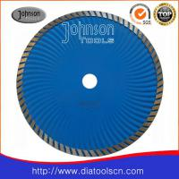 Large picture Diamond saw blade:230mm sintered turbo wave saw b