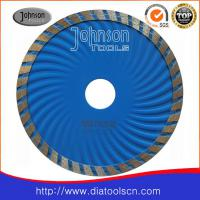 Large picture Diamond blade:125mm sintered turbo wave saw blade