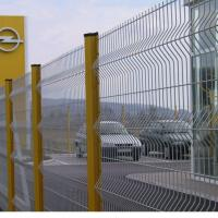 Large picture wire mesh fence