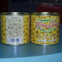 Large picture canned sweet corn
