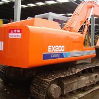 Large picture used excavator