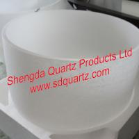 Large picture quartz crucible