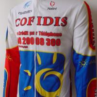 Large picture cycling suit
