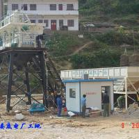 Large picture Hot Sale Concrete Mixing Plant(HZS35)