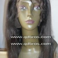 Large picture Indian Virgin Hair Full Lace Wig by K Brothers