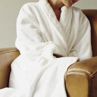 Large picture Bath Robe, Terry Bath Robe, Honey Comb Bath Robe