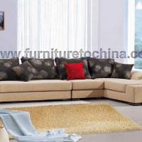 Large picture modern corner sofa, sectional fabric leisure sofa