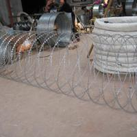 Large picture razor wire