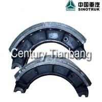 Large picture sinotruk howo truck parts brake lining