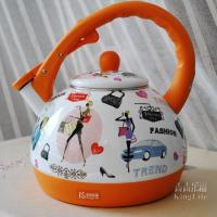 Large picture DW18-10G Enamel Electric Kettle