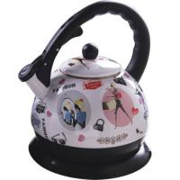 Large picture DW18-10 Enamel Electric Kettle