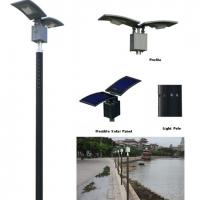 Large picture solar courtyard lamp