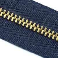 Large picture zipper, metal zipper