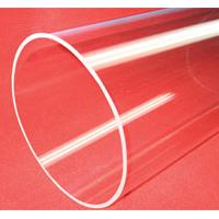 Large picture extral large caliber clear fused quartz tube