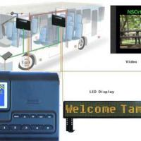 Large picture GPS bus station auto announcer