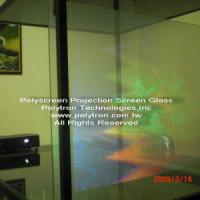 Large picture Polyscreen glass/film