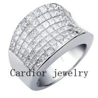 Large picture Cardior Jewelry - 18k white gold ring with diamond