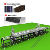 Large picture Manufacturing line for a-Si PV solar cell