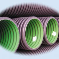 Large picture PE Double Wall Corrugated Pipes