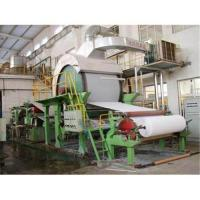 Large picture paper machine
