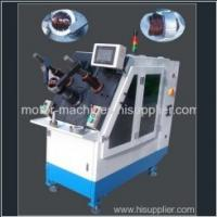 Large picture stator winding inserting machine