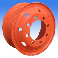 Large picture steel wheel rim