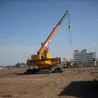 Large picture Hydraulic static pile driver