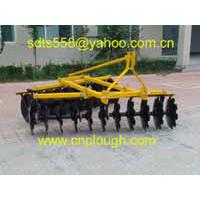 Large picture disc harrow
