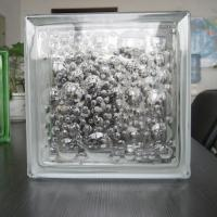 Large picture glass block