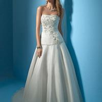 Large picture bridal gown