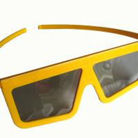 Large picture Plastic Circular polarized 3d glasses