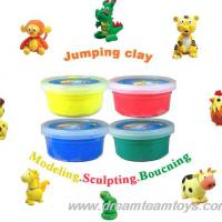 Large picture jumping clay