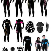Large picture Neoprene Surfing Wetsuits EN-SS08
