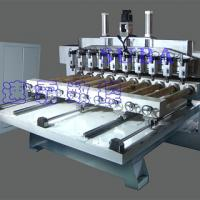 Large picture CNC Router for wooden columns