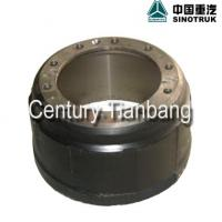Large picture sinotruk howo truck spare parts brake drum