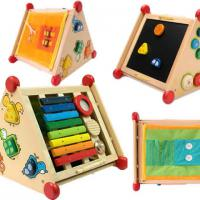 Large picture Educational Toys -6-in-one Multi Activity Centre