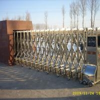Large picture folding  industrial gate