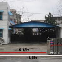 Large picture automatic retractable gate