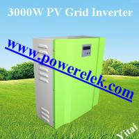 Large picture 2KW 3KW grid tie inverter for solar and wind