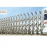 Large picture electric retractable gate