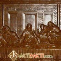 Large picture The Last Supper Wooden Craft