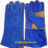Large picture 14' Blue Select Leather Welder Gloves