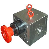 Large picture extruison gear pumps
