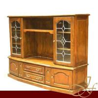 Large picture Entertainment Cabinet w/ Leadlight Doors