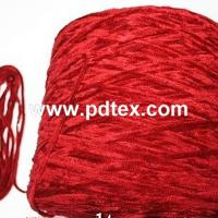 Large picture chenille yarn