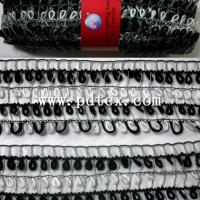 Large picture boucle yarn