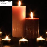 Large picture home decoration candle