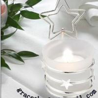 Large picture decoration cup candle